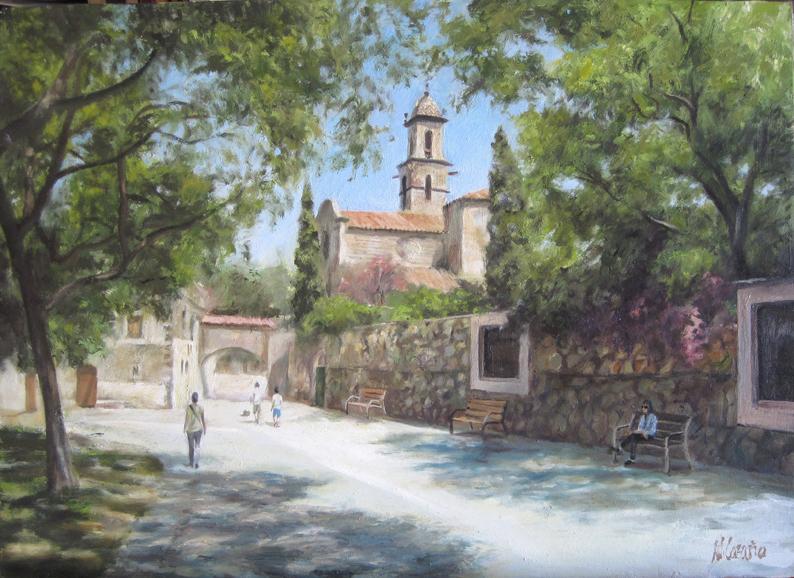Cuadros de iglesias: Sant Martí de Provençals