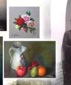 la pintora catalana Carmen Gandía realizó numerosas naturalezas muertas a lo largo de su carrera artística - still life in painting