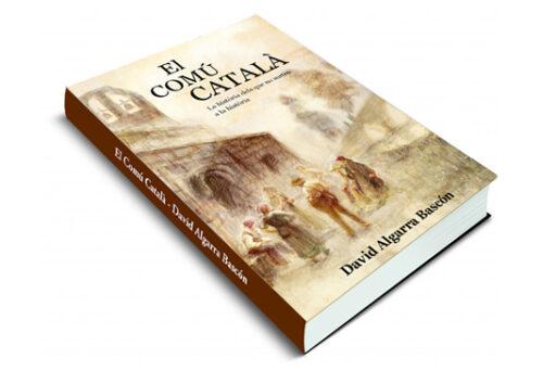 ilustración digital personalizada para la portada y contraportada del libro El Comú Catalá, del autor David Algarra Bascón