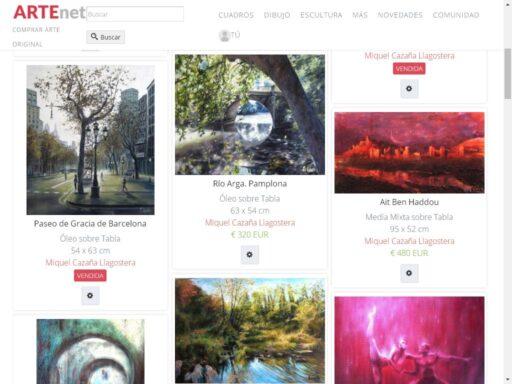 galerías de arte online - Artenet