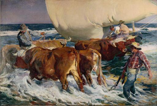 Trabajo artístico de gran nivel - El pintor valenciano Joaquín Sorolla
