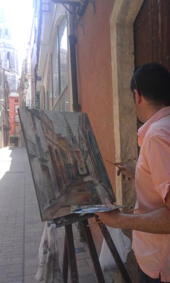 Miquel Cazaña concursos de pintura rápida