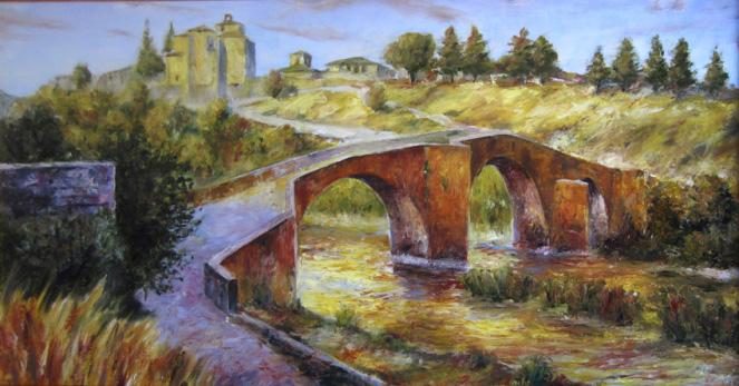 Puente de Aoiz - Trucos para concursos de pintura rápida