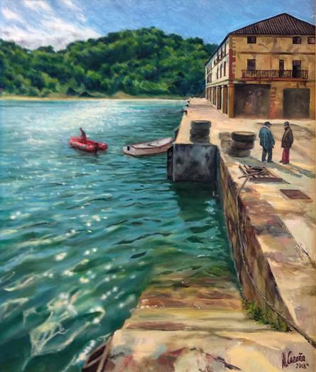 pinturas al oleo marinas modernas