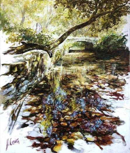 pinturas al oleo de paisajes campestres