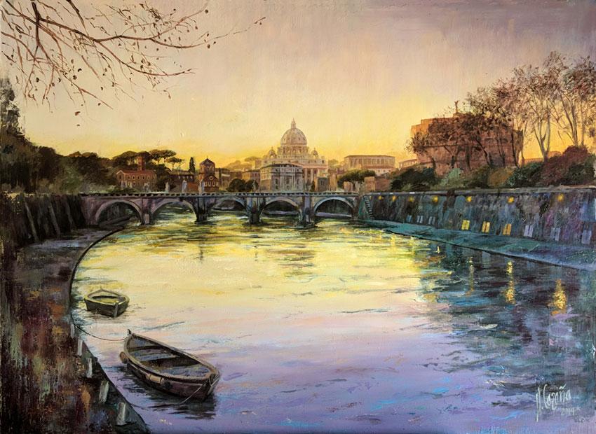 Proceso de pintura al óleo. Cuadros de marinas - El Neoclásico y el Romanticismo
