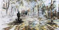 Paisaje urbano al óleo | Pinturas de ciudades